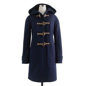 J. Crew Wool Cashmere Toggle Coat